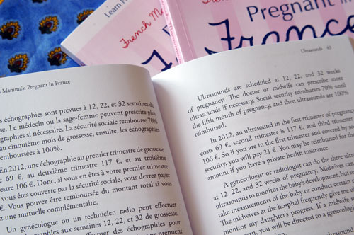 how to say french book in french